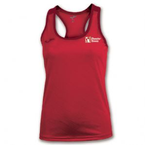 Munster Tennis Shirt Torneo II Red Women's Fit - Childrens / Juniors